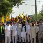 Protest against Inadequate Electricity